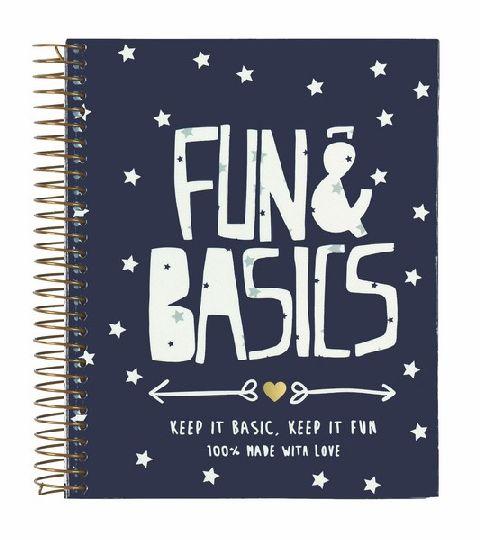Caiet spira A6,120file,Fun&Basics