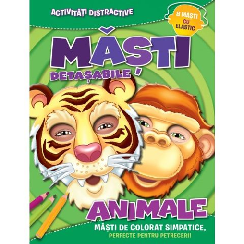 MASTI DETASABILE. ANIMALE (8 MASTI CU ELASTIC)