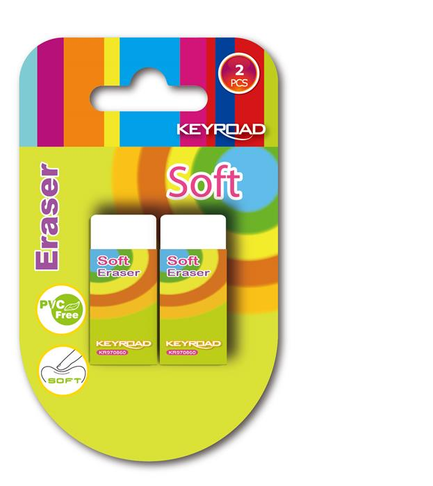 Radiera Soft Keyroad,2buc/set