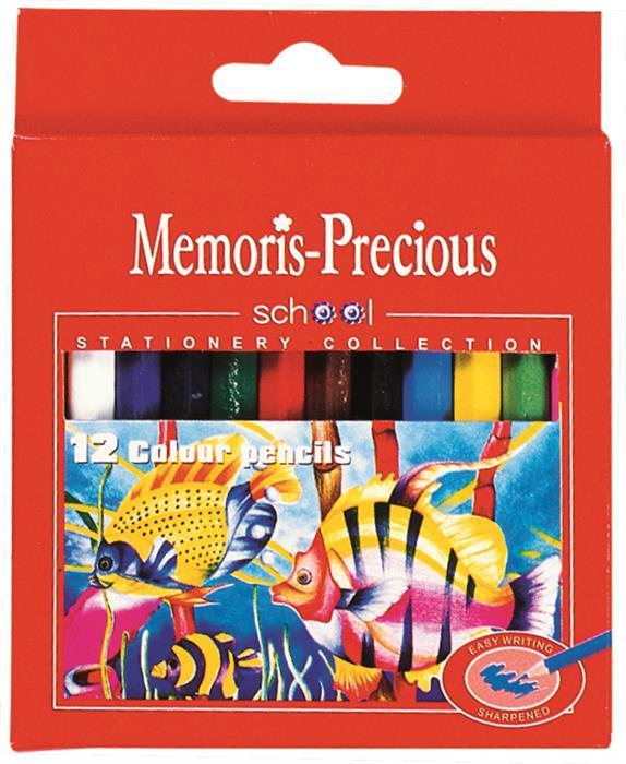 Creioane colorate,12buc/set,Memories