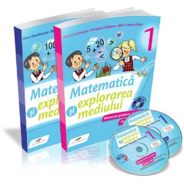 MANUAL MATEMATICA SI EXPLORAREA MED CL.I-MANUAL