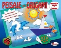 PEISAJE–ORIGAMI (FIGURINE DETASABILE, PLANSE PENTRU COLORAT, HARTIE PENTRU ORIGAMI)