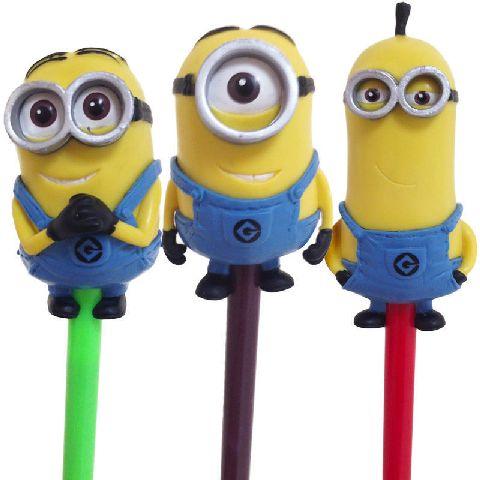 Accesoriu creion Minions,3buc/set