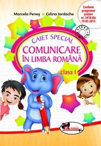 CAIET SPECIAL COMUNICARE IN LIMBA ROMANA CLS. 1 (ELEFANTEL)