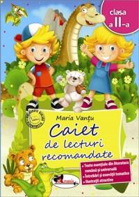 CAIET DE LECTURI RECOMANDATE CLS. A II-A