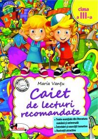CAIET DE LECTURI RECOMANDATE CLS. A III-A