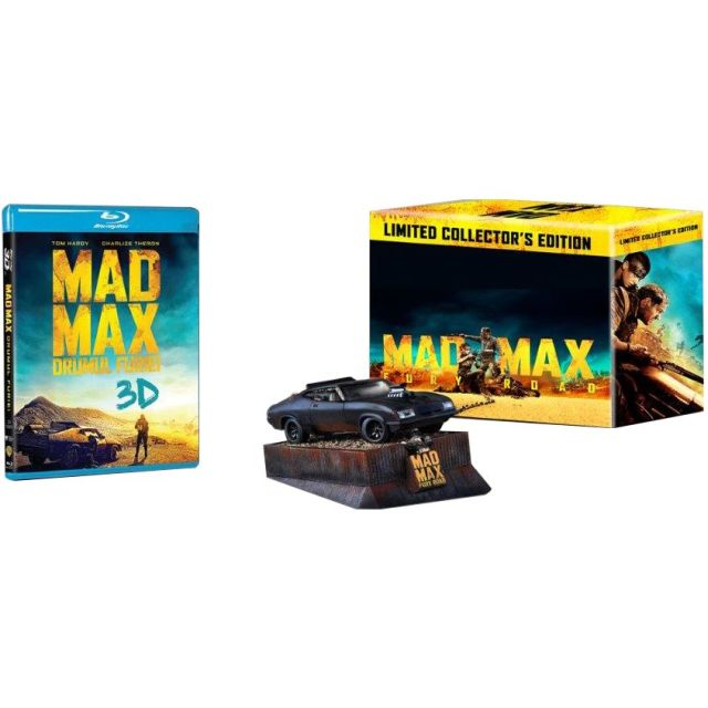 MAD MAX: FURY ROAD - DRUMUL FURIEI 3D COLLECTOR ED