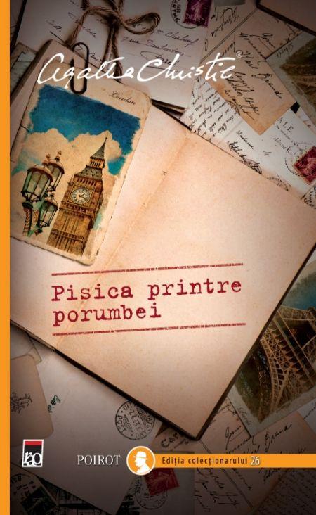 PISICA PRINTRE PORUMBEI - POIROT ED. COLECTIONARULUI