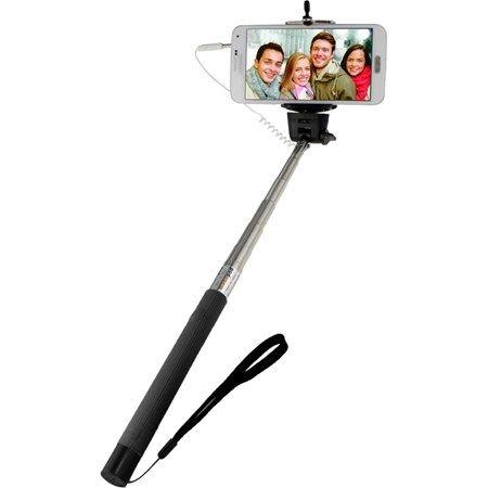 Monopied pentru fotografii de tip selfie, dimensiune ajustabila 29-115cm, negru