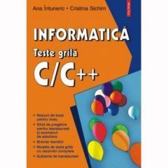 INFORMATICA.TESTE GRILA C/C++
