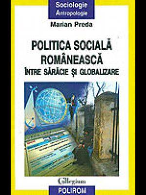 POLITICA SOCIALA ROM. INTRE SARACIE SI