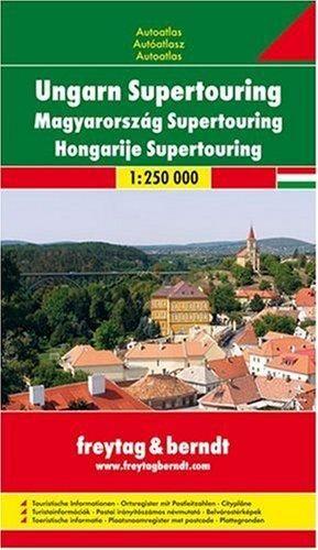 HUNGARY SUPERTOURING ROAD ATLAS, SPIRAL