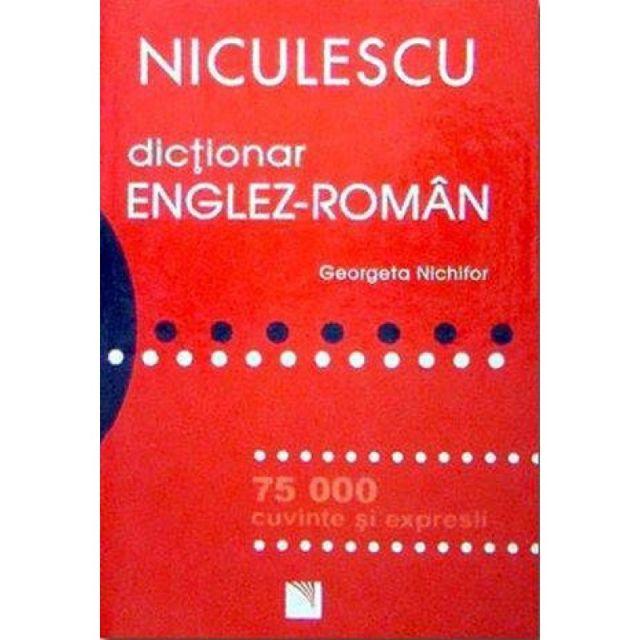 DICTIONAR ENGLEZ-ROMAN (75000 CUV)