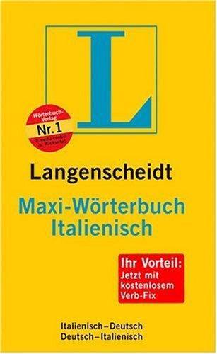 MAXI-WORTERBUCH ITALIENISCH