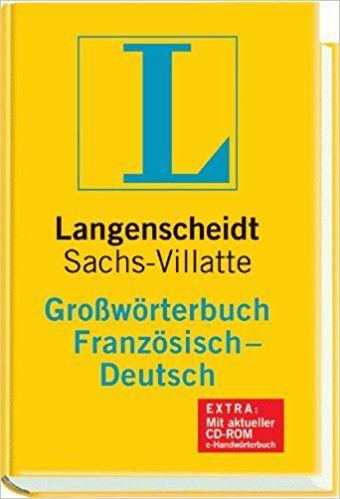 GROSSWORTERBUCH SACHS -VILLATTE F-D