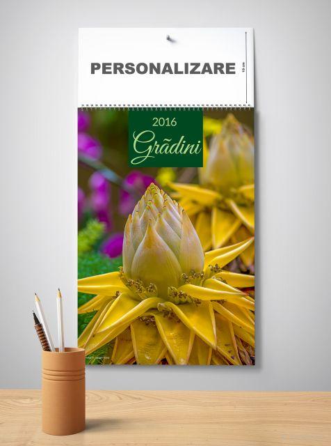 Calendar perete 33x48cm,Gradini,12f,2016