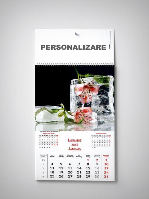 Calendar perete 32x48cm,Extravaganza,12f,2016