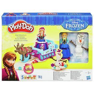 PlayDoh-Set creatie,Frozen,aventuri pe sanie