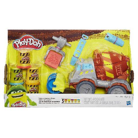 PlayDoh-Set creatie,masina de ciment