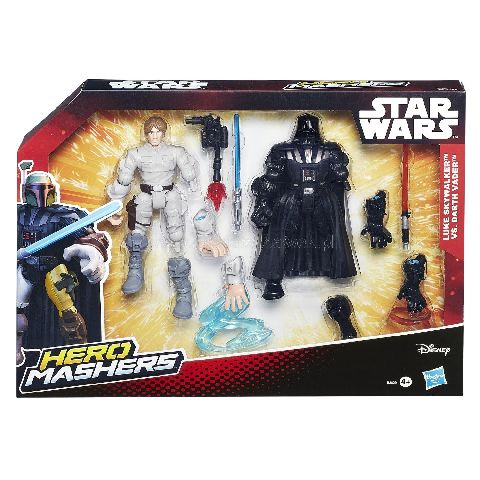 StarWars-Figurine,2 buc,Hero Mashers,set lupta