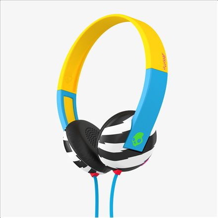 Casti Skullcandy Uproar Locals only/blue/green