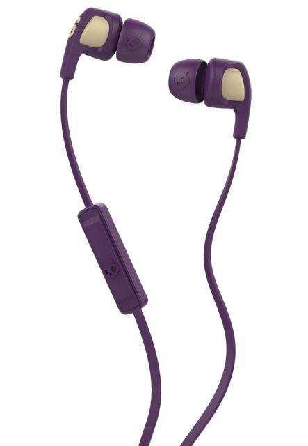Casti Skullcandy Smokin Buds 2 ||| Famed/Purple/Cream