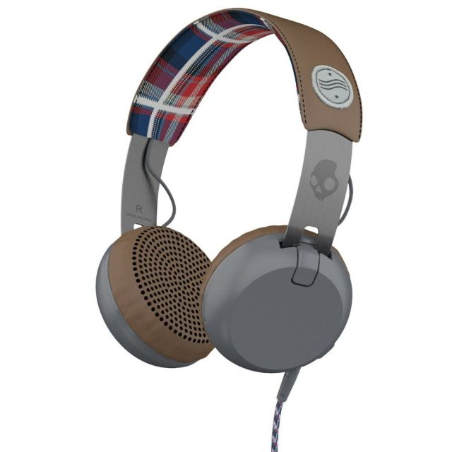Casti Skullcandy Grind Americana/Plaid/Gray
