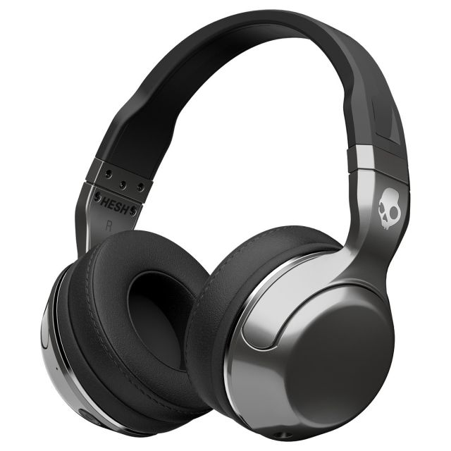 Casti Skullcandy Hesh BT Wireless Silver/Black/Chrome