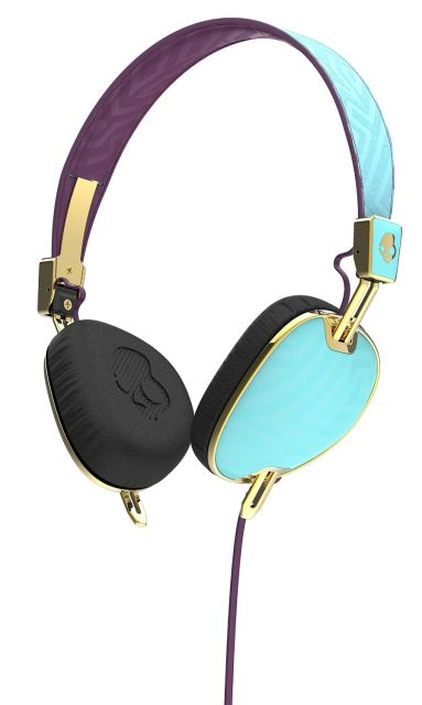 Casti Skullcandy Knockout Robin/Smoked Prpl/Gold