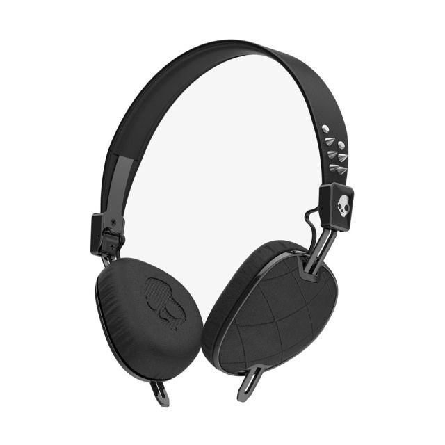 Casti Skullcandy Knockout Quilted Black/Black Chrome