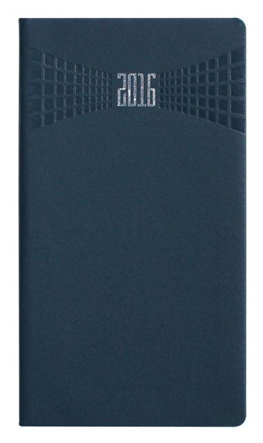 Agenda 8x15cm,datata,Matra,128p,albastru