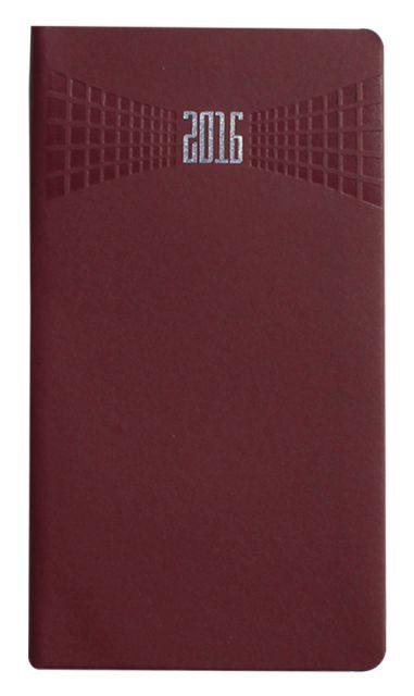 Agenda 8x15cm,datata,Matra,128p,bordo