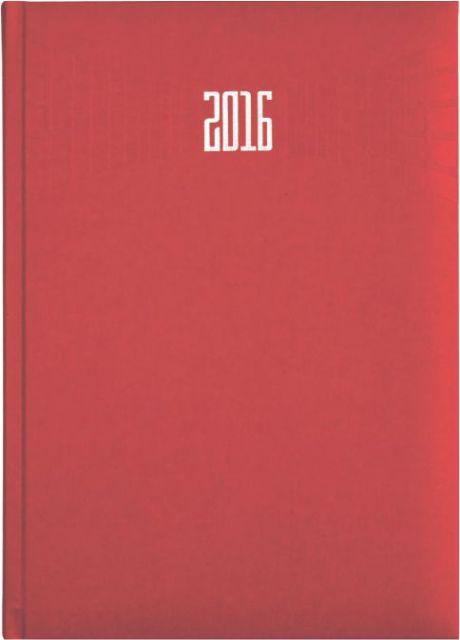 Agenda A5,datata,Matra,320p,rosu