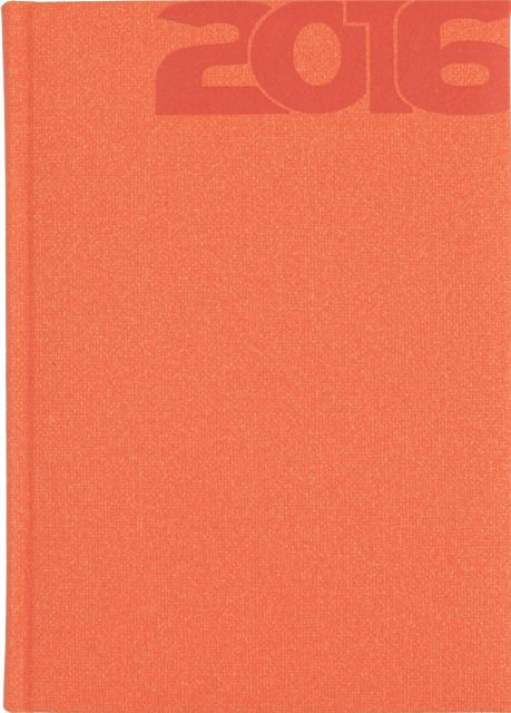Agenda A5,datata,Delhi,320p,portocaliu