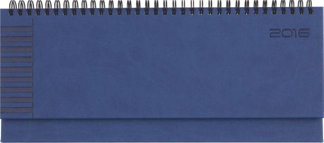 Planner 11x30cm,Bristol,saptamanal,128p,albastru