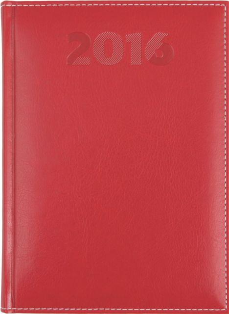 Agenda A5,datata,Sherwood,320p,rosu