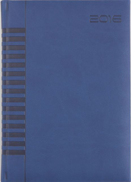 Agenda A4,datata,Bristol,128p,albastru