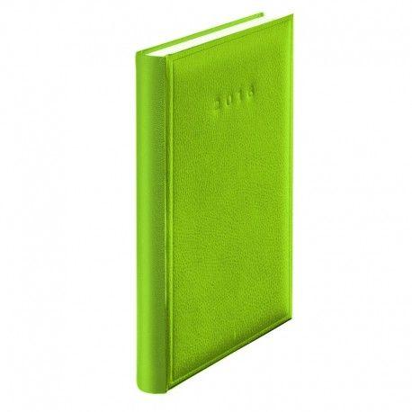 Agenda A5,datata,Standard,352p,verde