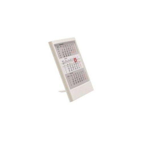 Calendar birou,suport plastic,alb,2016