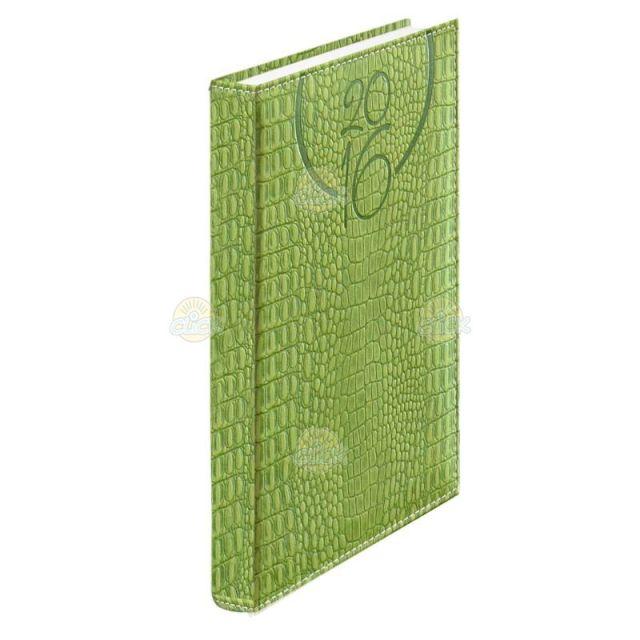 Agenda A5,datata,Oceania,352p,verde