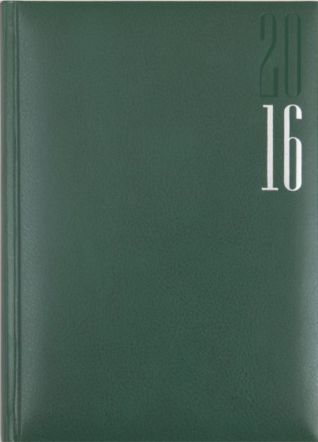 Agenda A5,datata,Malindi,320p,verde