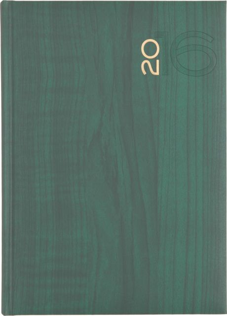 Agenda A5,datata,Giava,320p,verde