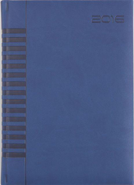 Agenda A5,datata,Bristol,320p,albastru