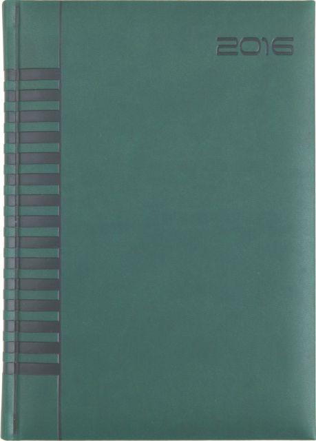 Agenda A5,datata,Bristol,320p,verde