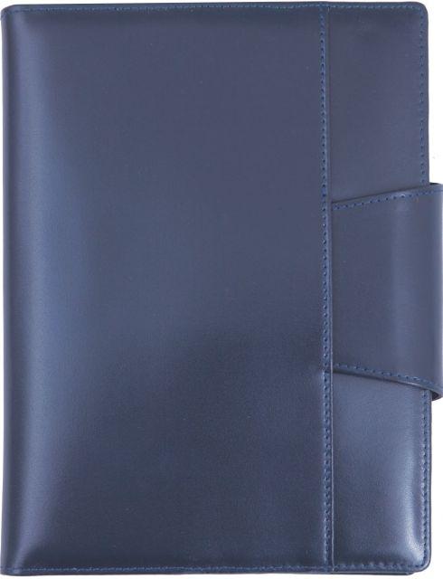 Agenda datata A5,Monte Carlo,piele,320p,albastru