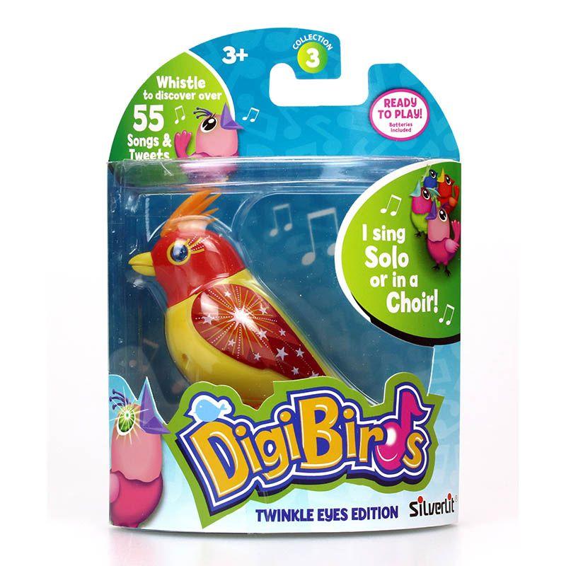Digibirds,pasare interactiva,cu led