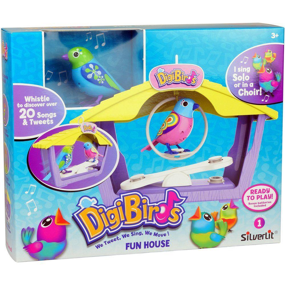 Digibirds,pasare interactiva in casuta