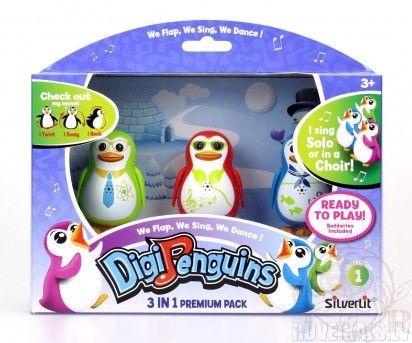 Digipenguins,pinguin interactiv,3b/set