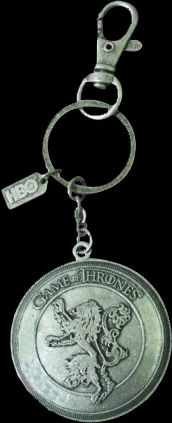 Breloc Game of Thrones - Lannister Shield Snap
