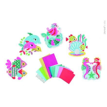 Set creativ,Mozaic,lumea sirenelorJanod